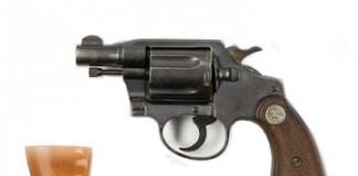 Les revolvers de Bonnie and Clyde