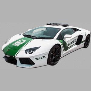 Une Lamborghini pour la police de Dubaï