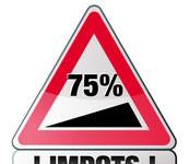 Impôts : Taxe à 75%