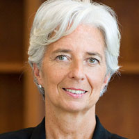 Photo de Christine Lagarde