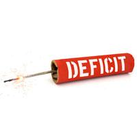 Explosion des déficits