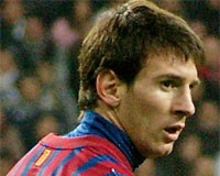 Photo du footballeur Lionel Messi