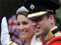 Photo du Prince William et de Kate Middleton