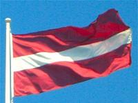 Drapeau de la Lettonie