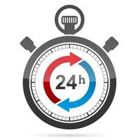 24 heures crédit justificatif