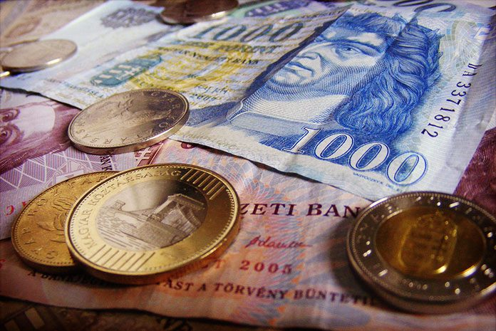 Monnaie hongroise : le Forint (HUF)