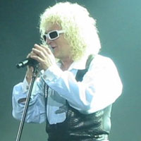 Photo de Michel Polnareff lors de l'un de ses concerts