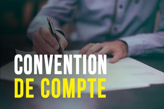 Convention de compte