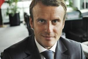 Photo d'Emmanuel Macron