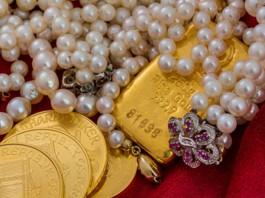 Lingot, or et bijoux