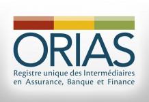 Logo de l'ORIAS (Registre unique des intermédiaires en assurance, banque et finance)