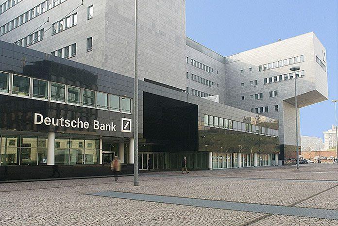 Batiment de la Deutsche Bank à Milan