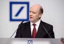 Photo de John Cryan, Président du Directoire de la Deutsche Bank