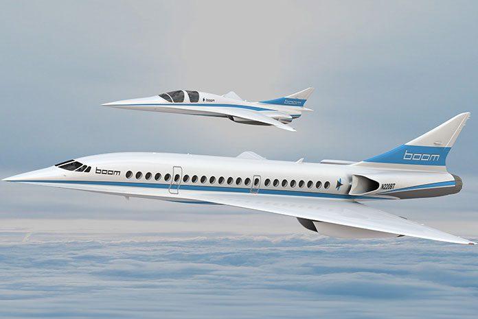 Avion Supersonique Boom XB1