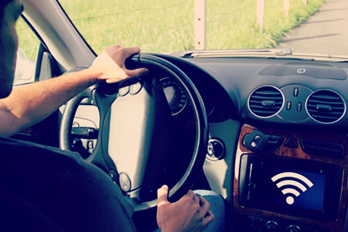 voiture connectée