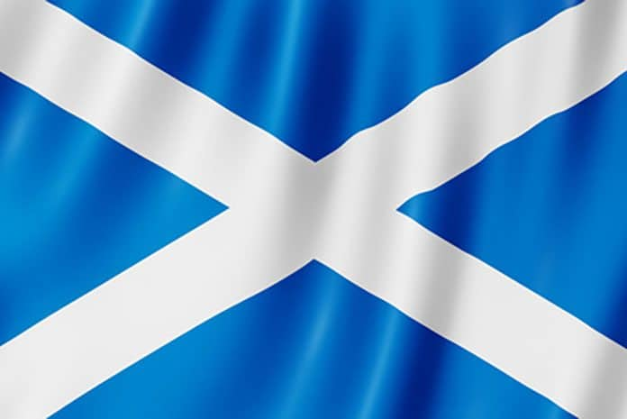 drapeau de l'Ecosse