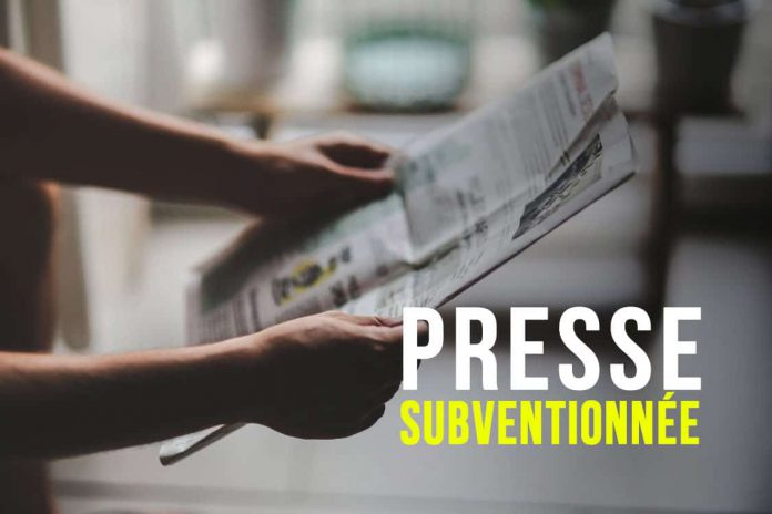 Presse subventionnée