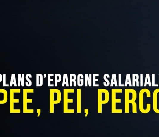 Plans d'épargne salariale (PEE, PEI, PERCO)