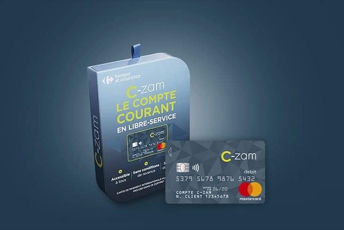 Compte C-zam de Carrefour banque