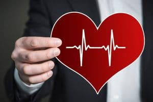 pulsations cardiaques issues d'un pacemaker