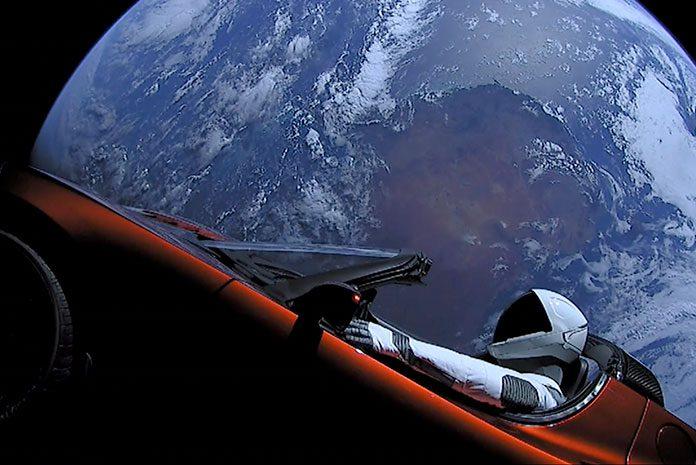 SpaceX a lancé