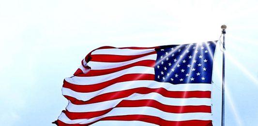 USA : Drapeau des Etats-Unis