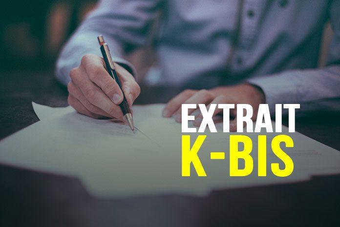 Extrait Kbis