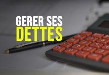 Gérer ses dettes