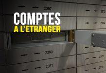Comptes bancaires à l'étranger
