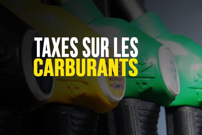 Taxes sur les carburants