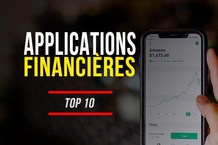 Applications mobiles en finance