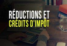 Réductions et crédits d'impôt