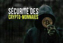 Sécurité des crypto-monnaies