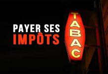 Payer ses impôts au bureau de tabac