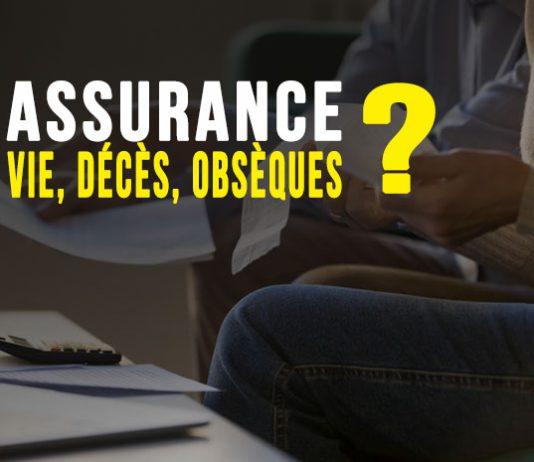Assurance vie, assurance décès et assurance obsèques