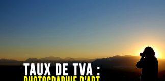 Taux de TVA pour les photographies d'art