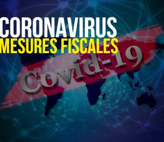 Coronavirus et mesures fiscales