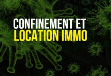 Confinement et location d'appartement