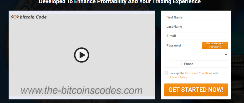 ouverture compte bitcoin code
