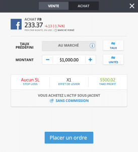 acheter action facebook etoro