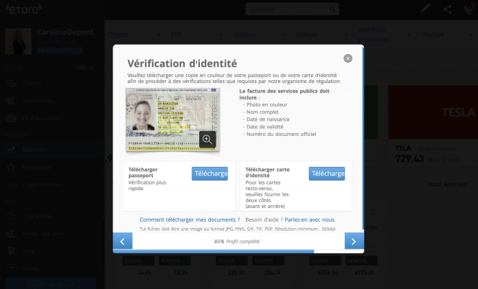 forex vérifier indentité