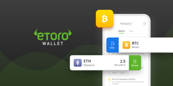 Étape 5: Envoyez vos jetons crypto monnaie à votre eToro wallet