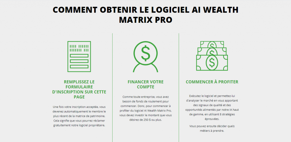 Wealth Matrix : comment ça marche