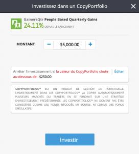 Dupliquer la stratégie d'investisseurs rentables