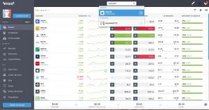 """Etape 4 : Rechercher """"Euronext NV"""" dans la barre de recherche"""