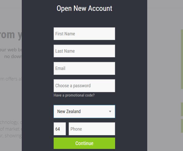 Étape1: Ouvrez un compte UFX