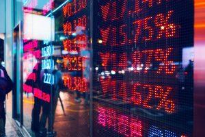 baisse des marchés dow jones