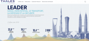 action thales site