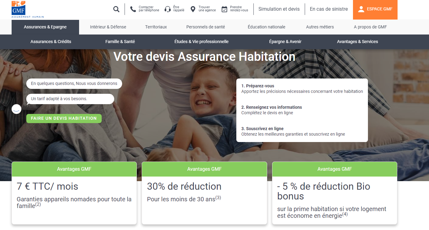 GMF assurance habitation