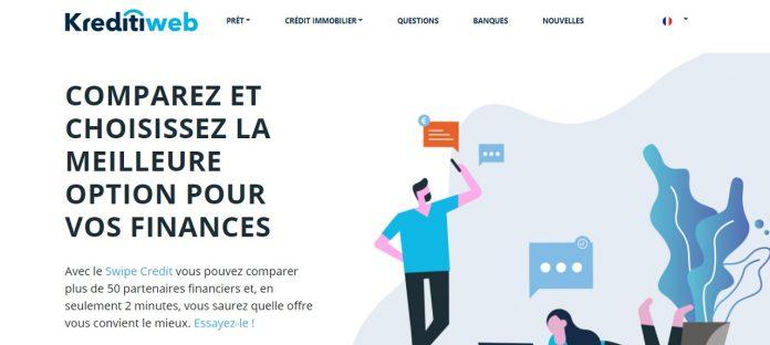 1 – Se rendre sur Kreditiweb